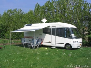 Camper con garage!