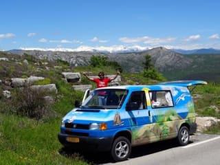 Beach – Beach - Gezellige en robuuste VW T4 campervan