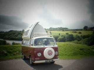 Ruby – Ruby the classic early bay window campervan