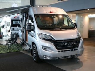 Malibu 600LE – Beautiful and richly equipped camper 2017