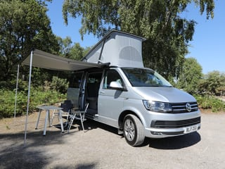 Jeff the 2017 VW California Ocean