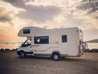 Go wild Zefiro motorhome for hire