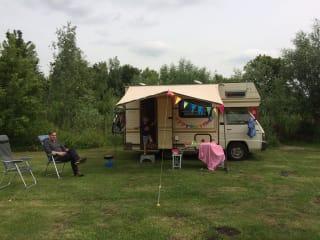 Chickie – Retro camper voor gezinnen