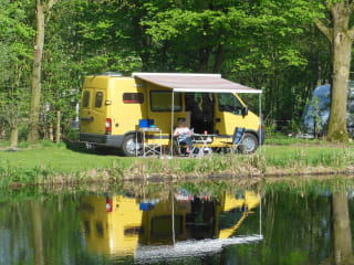 For two people comfortable camper, drives like a car
