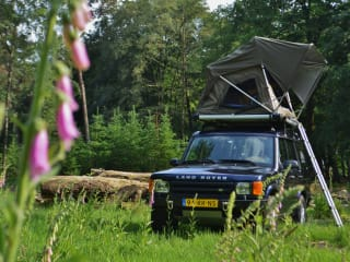#VanHetPad – ~ Stoere Land Rover Discovery met DAKTENT ! ~