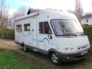 2003 HYMER B634 4 BERTH REAR LOUNGE MOTORHOME FOR RENT