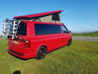 AVAILABLE Aug VW Volkswagen Transporter T6 2016 long wheel base , 4 berth