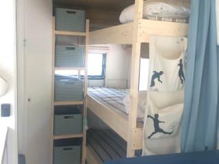 Frisse camper voor 4-5 personen