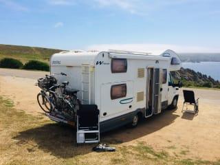 Cristall winner – Een ruime nette camper