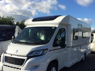 Hire our Brand New 2019 Bailey Advance 76-4T