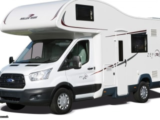 Ford Zefiro 675 1-6 berth  Motorhome (Wigan)