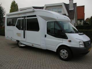 4 Pers. Familie Camper Noordwijk