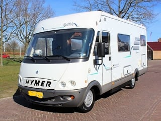 Hymer B644 4pers