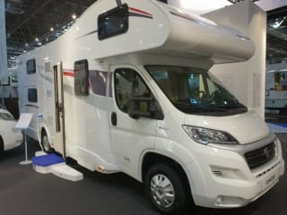 rimor – 2019 Winter-proof camper 6 fixed beds