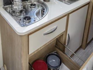 Mobilhome voor ganse familie – Bella casa mobile per tutta la famiglia