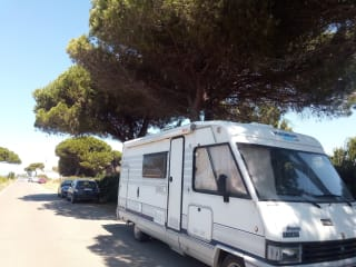 Motorhome rental, weekends and long periods ...
