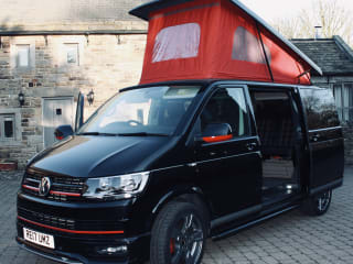 "Wilber – ""Wilber"" the VW T6 GTi Pop-Top Camper van, Turns heads wherever he goes!"