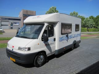 Fiat Ducato Roller 15 3 persoons