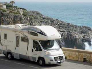 Attic camper in Puglia, 5 places, beautiful and easy to use