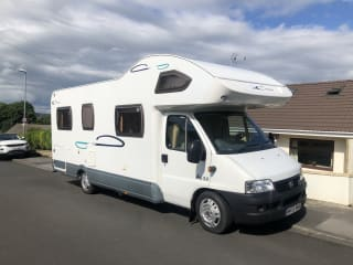 4/5 berth family motorhome