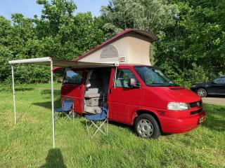 Gea – Krachtige en veilige Volkswagen Westfalia t4