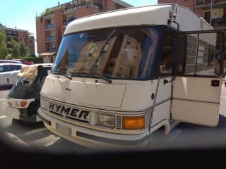 Vintage Holidays on Hymer integral!