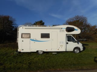 Easy motorhome hire, just turn up and go!