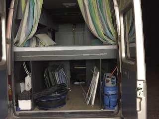 Benzbus – Mercedes buscamper , 3 persoons te huur