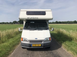 5 persoons-camper - Kilometervrij