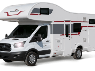 6 Berth Motorhome Hire - UK & Europe