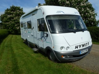 Homer – 'Homer' 6 Berth B644 Hymer Is Based In Near Milton Keynes