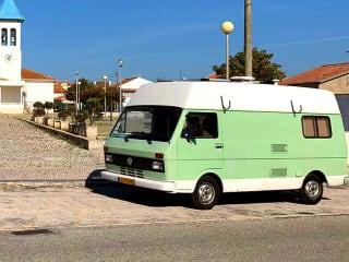 "Samba – ""Sambabus"" Volkswagen LT 28 Mintgroen"