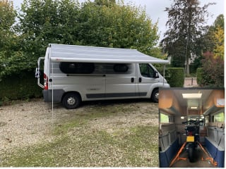 Uniek in NL en EU  Motorcamper Knaus YamC