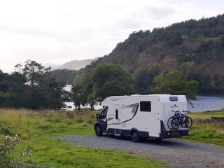 Brand New Luxurious 4 Berth Rollerteam T-Line 740