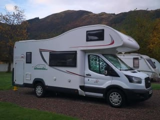 Ford Zefiro 675 1-6 berth  Motorhome (Blackburn)