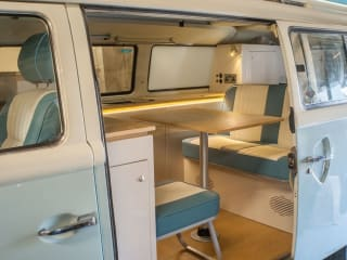 Newly Converted VW Bay Window