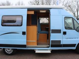 Comfortable camper bus
