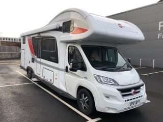 Stunning Family Motorhome ready for Scottish Adventures