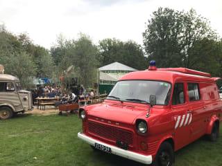 Oldtimer Brandweerwagen Camper – Brandweerwagen 39