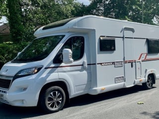 """""""Pep B"""" – Bailey Advance 70-6, 2019, Fully equipped 6 berth, lots of space!"""