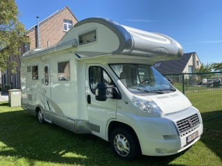 De Duwies on the road – Ruime mobilhome