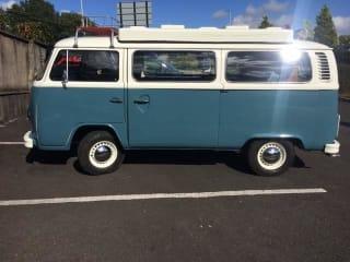 Doris the VW Late bay classic