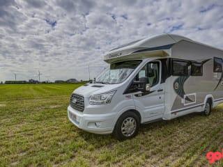 Nieuwe Chausson Titanium 708 (2020) op Ford 170 pk