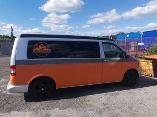 Van Diesel  – Fully Loaded Eye Catching orange and grey T5