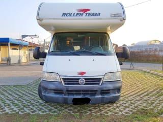 Fiat camper 6 posti