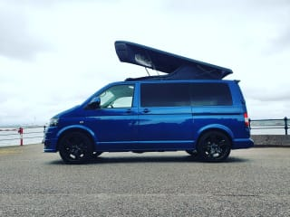 VW T5 Newly Converted