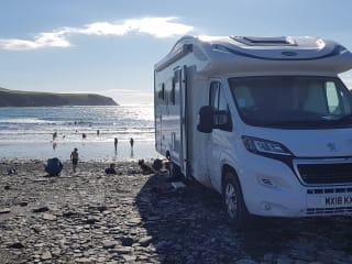 Spacious, 5 berth, coach built motorhome