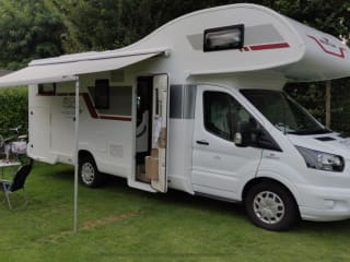 Luxe Mobilhome Ford Kronos Alkoof