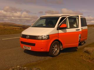 Sevie – VW Transporter Campervan Conversion for Hire