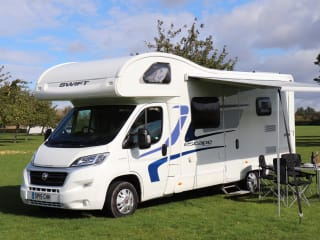 Daisy – 6 berth Motorhome, based in Somerset.